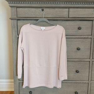 J. Jill Rosewater Pink Sweatshirt Petite Small